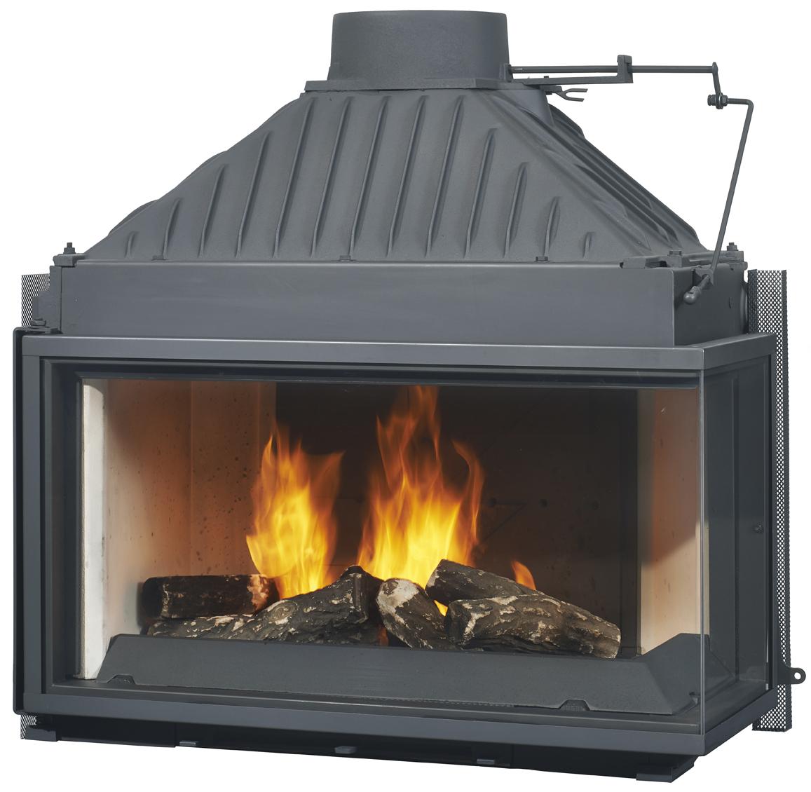 Chemin\u00e9es Philippe Radiante 873 2V Wood Fire \u2013 Corner View \u2013 Gold Coast Fireplace and BBQ Super ...