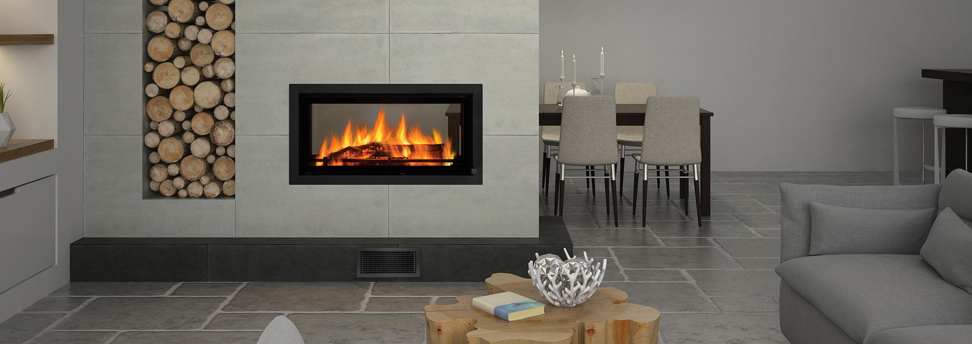 Regency Mansfield Inbuilt Wood Fire Gold Coast Retailer