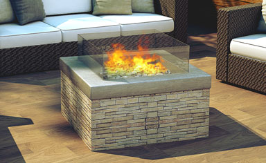 Real Flame Pit Fire Gold Coast Retailer Outdoor Heating