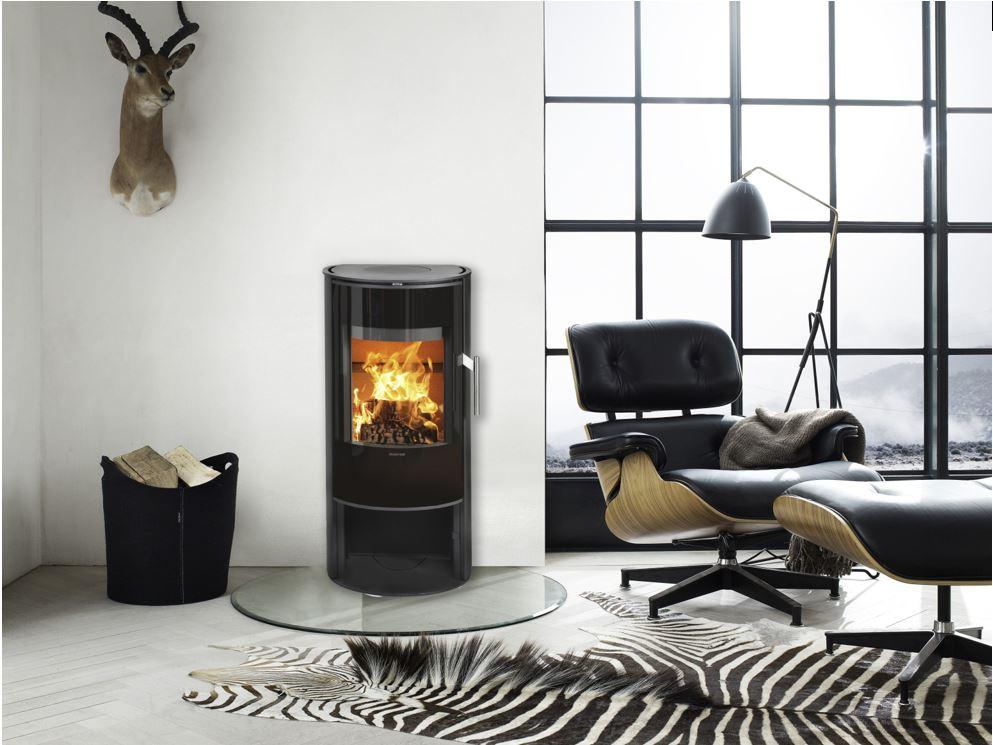 Morso 4143 Modern Freestanding Wood Fire Gold Coast