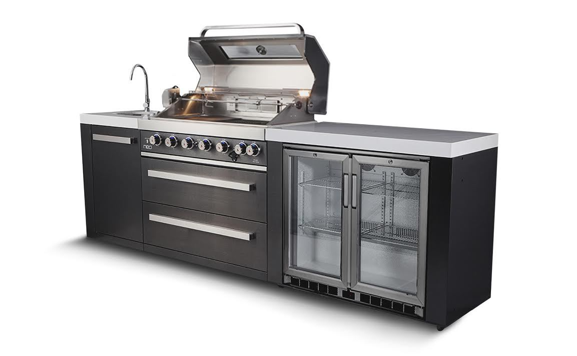 Everdure Neo Black Outdoor Kitchen Gold Coast Fireplace And Bbq Super Centre